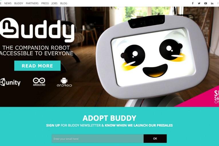Blue Frog Robotics New Website
