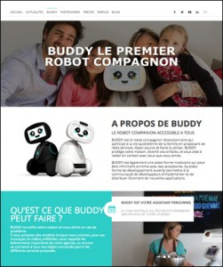 Buddy Website Blue Frog Robotics