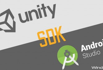 Install a development environment Unity/Android/SDK(Robot) for Windows